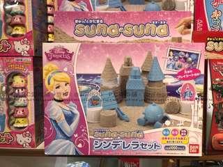 日本連線預購限時團限時特價灰姑娘動力沙玩具