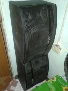 2 Karaoke Speaker Systems