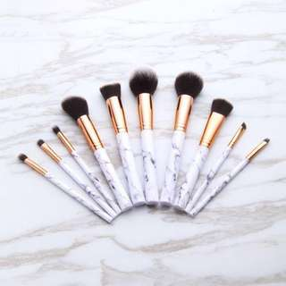 Marble Makeup Brushes- PREORDER