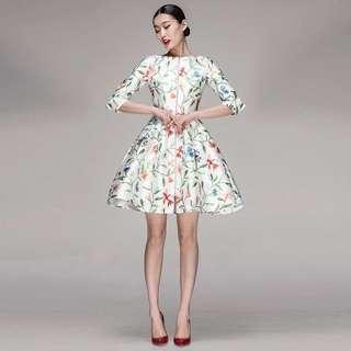 Florist Dress vintage style