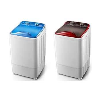 XPB35-2008大容量單筒單桶半全自動小型迷你洗衣機