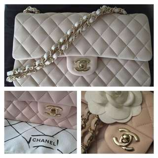 Reserved* BNIB Chanel Pastel Pink Classic Flap