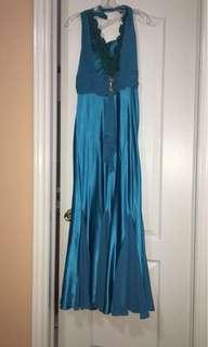 Blue occasion dress