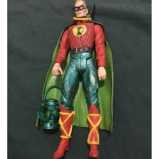 DC comics loose green lantern  by alex ross justice society america golden age action figure