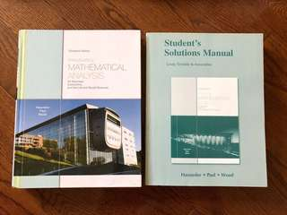 Introductory Mathematical Analysis (13th Ed.) + Solutions Manual