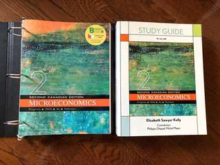 Krugman Microeconomics (2nd Canadian Edition) + Study Guide