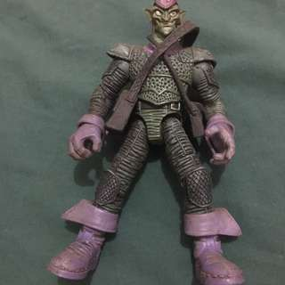 loose spider man classics toybiz green goblin action figure toy
