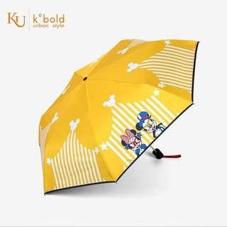 德國品牌kukobold太陽傘防紫外線 米奇米妮迪士尼