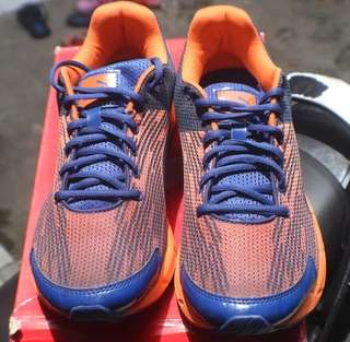 Sepatu Running Puma Original SQUENCE SODALITE BLUE ORANGE BNIB