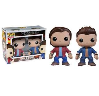 Supernatural Winchester Brothers SAM & DEAN (2 PRICE OF 1)