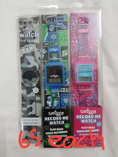 New Smiggle watches