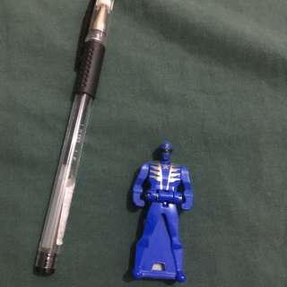 power rangers legendary key blue ranger