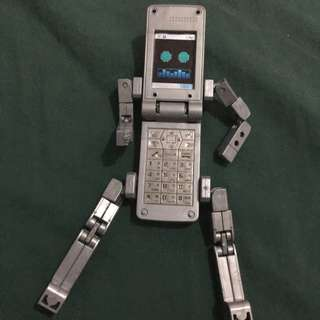 bandai phone braver action figure toy celphone robote