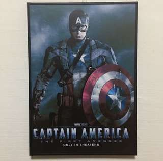 Captain America First Avengers 1 ART MOVIE DISPLAY