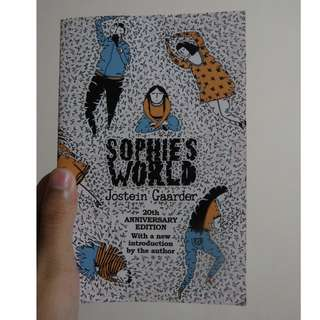 Sophie's World (Buku Novel Filosofi Fantasi/Philosophy Fantasy Novel)