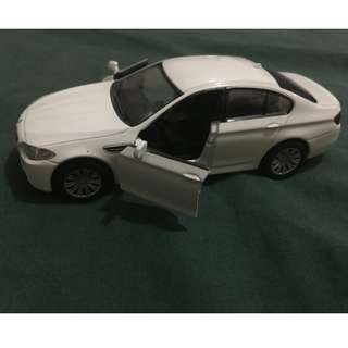 RMZ city 1:32 scale die cast toy car BMW m5 pull back