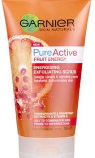 Garnier Fruit Energy Exfoliating Scrub