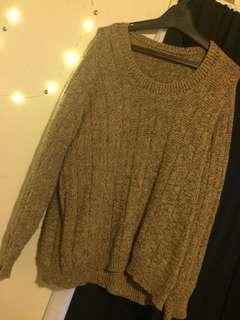Warm knit jumper