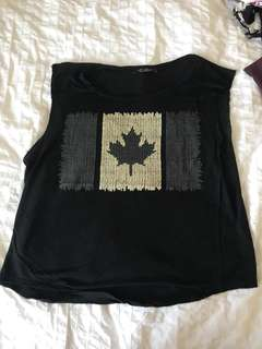 Canada Tank Top Size S