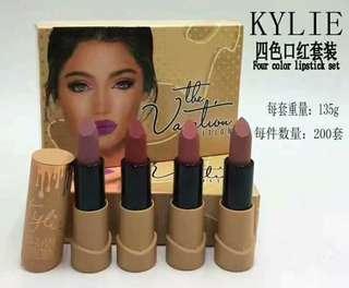 Kylie 4 set of Lipsticks
