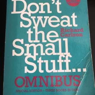 Books - Dalai Lama/ Don't sweat the small stuff etc