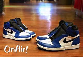 AJ1 RETRO HIGH OG GAME ROYAL 555088-403/575441-403