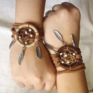 Dreamcatcher Strap Bracelet