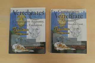 Vertebrates: Comparative Anatomy, Function, Evolution - 7th Edition & Dissection Guide
