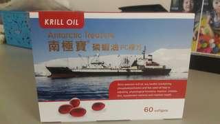 🚚 出清撿便宜~已拆封效期內剩48顆 南極寶磷蝦油 PC複方 Krill oil