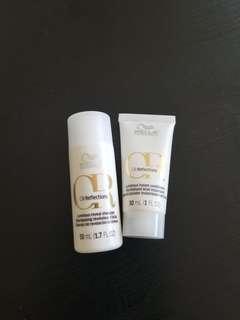 Wella professional luminous reveal shampoo and conditioner