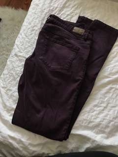 Garage High Waist Jeggings Size 7
