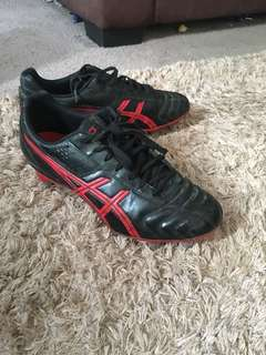 asics men's rugby boots size 9