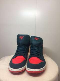 💥💥NIKE AIR JORDAN  1 Russell Westbrook with Box 💥💥 🏀. (鞋頭啲有花)