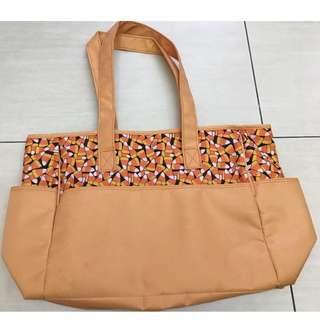 baby bag with side pockets set of2