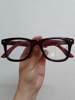 Repriced!!Ray ban red glasses