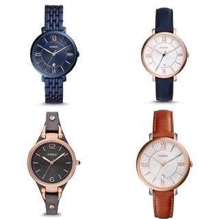 [Mother's Day Special] 100% Authentic Fossil Watch Women / Fossil Watch Ladies