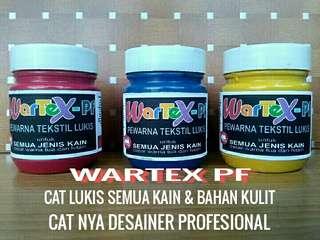 WARTEX - PF Cat Pigmen Untuk Semua Jenis Kain & Bahan Kulit