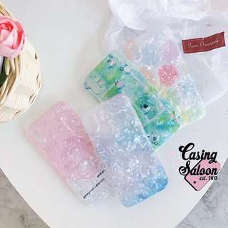 Transparent Marble Case Collection