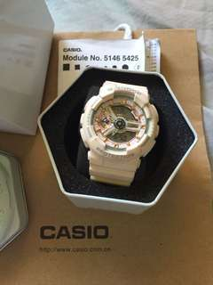 Casio G-Shock Rose-gold