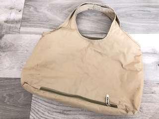 杏色側揹袋 (多隔格)奶粉袋