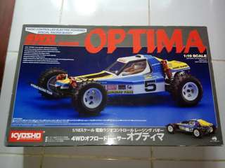 Kyosho 30617 - 1/10 Optima 4WD Off-Road Racer Kit Vintage Series Buggy
