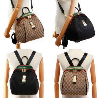 Gucci Backpack 3in1