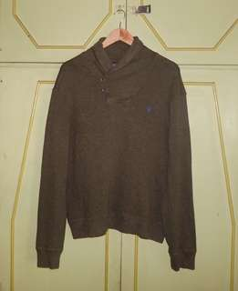 Authentic Ralph Lauren French-Rib Shawl Pullover Sweater