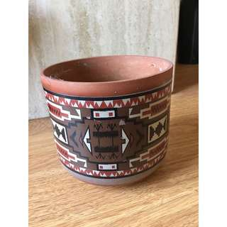 Aztec Pottery Planter