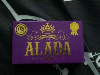 Genuine and authentic ALADA soap from Thailand