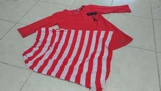 Pre Loved Red Raya 2-4yo