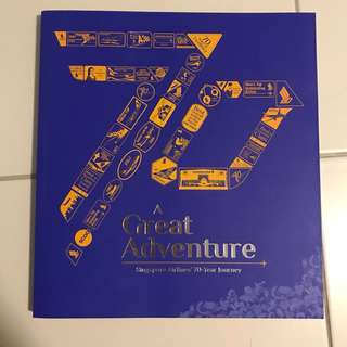 SINGAPORE AIRLINES 70 YEAR JOURNEY BOOK