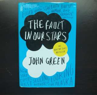 (HARD BOUND) THE FAULT IN OUR STARS by John Green