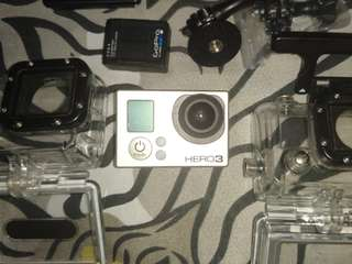 Gopro Hero 3 with LCD monitor