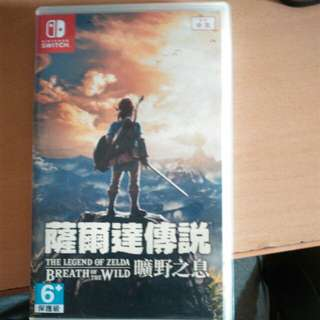 🚚 薩爾達傳說:荒野之息 The Legend of Zelda Breath Of the Wild